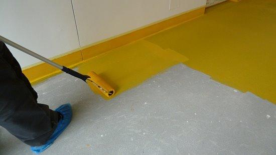 Epoxidový nátěr na betonové podlahy v interiéru (SigmaFLOOR 2K Epoxy Aqua 10l)